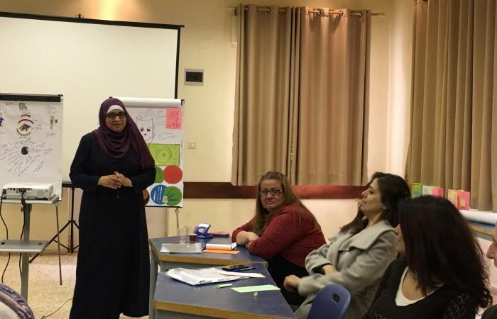 مجموعة من أعضاء شبكة ديار المدنية الثقافية تختم دورة تدريب في مجال تعليم الكبار