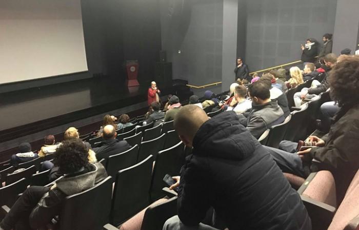 ضمن فعاليات شهر سينما الثورة الفلسطينية دار الكلمة الجامعية تعرض فيلمين