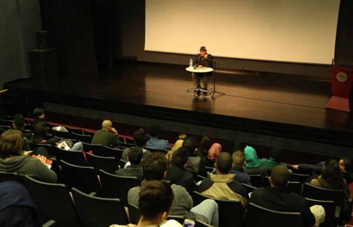 دار الكلمة الجامعية تستضيف المخرج الفلسطيني رشيد مشهراوي