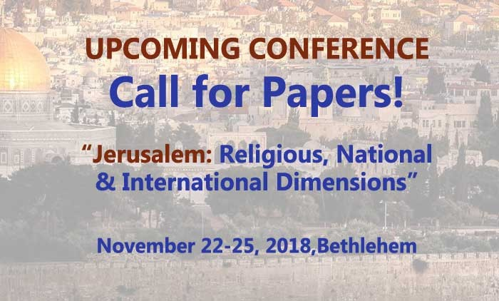 Upcoming International Conference! CALL FOR PAPERS