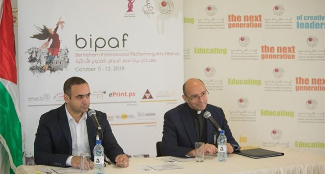تنظيم مؤتمر صحفي خاص بإطلاق مهرجان بيت لحم الدولي للفنون الأدائية