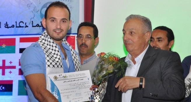 خريج كلية دار الكلمة الجامعية المخرج أحمد حمد يفوز بالجائزة الكبرى في مهرجان سوس الدولي للأفلام القصير