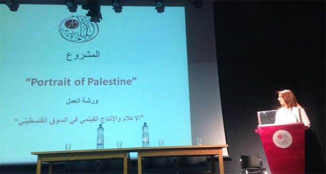 القطاع الأكاديمي والقطاع الخاص يبحثان في حال الإعلام والإنتاج الفيلمي في السوق الفلسطيني