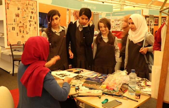 دار الكلمة الجامعية تشارك في فعاليات جناح بيت لحم عاصمة الثقافة العربية 2020