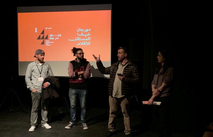 دار الكلمة الجامعية تشارك في فعاليات مهرجان حيفا المستقل للأفلام