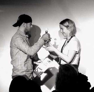 ابراهيم حنضل يفوز بجائزة الجمهور في مهرجان نوردك - Nordic - السينمائي للشباب في النرويج