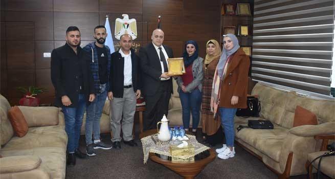 شبكة ديار المدنية الثقافية تختتم حملة (حقيبة فرص عمل) بلقاء مع وزير العمل معالي الدكتور نصري أبو جيش