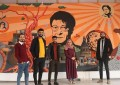 At an art school in Gaza, creation prevails amid destruction