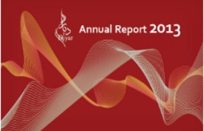 التقرير السنوي 2013