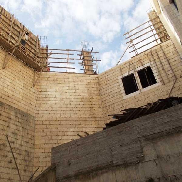 فيديو حول مراحل بناء دار الكلمة الجامعية مبنى المكتبة والوسائط المتعددة
