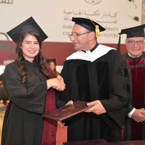 احتفال دار الكلمة الجامعية للفنون والثقافة بتخريج الفوج الحادي عشر من طلبتها